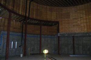 Haydn Planetarium Construction Interior