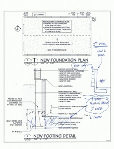 Patel & Joe residence proposed section